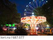 """Парк """"Ривьера"""" в Сочи, ночной вид (2008 год). Стоковое фото, фотограф Vitas / Фотобанк Лори"""