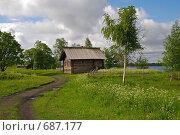 Деревня. Стоковое фото, фотограф Levin Alexandr / Фотобанк Лори