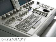 Купить «Клавиатура медицинского прибора», фото № 687317, снято 20 мая 2007 г. (c) Beerkoff / Фотобанк Лори