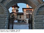 Церковные ворота. Стоковое фото, фотограф Татьяна Vikkerkaar / Фотобанк Лори