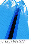 Здания с отражениями. Стоковая иллюстрация, иллюстратор Михаил Белков / Фотобанк Лори
