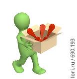 Купить «Проблемы», иллюстрация № 690193 (c) Лукиянова Наталья / Фотобанк Лори