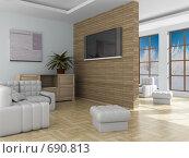 Купить «Интерьер зала», иллюстрация № 690813 (c) Ильин Сергей / Фотобанк Лори