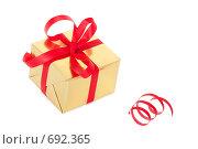 Купить «Подарочная нарядная упаковка, изолировано», фото № 692365, снято 7 февраля 2009 г. (c) Архипова Мария / Фотобанк Лори