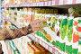 Полки с фруктовыми соками в супермаркете, фото № 692909, снято 8 февраля 2009 г. (c) Баевский Дмитрий / Фотобанк Лори