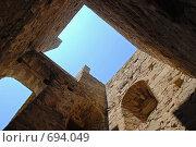 Крепость в Судаке (2008 год). Стоковое фото, фотограф семен плужник / Фотобанк Лори