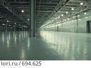 Купить «Пустой склад», фото № 694625, снято 23 февраля 2008 г. (c) Литова Наталья / Фотобанк Лори