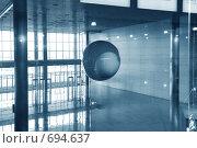 Купить «Современный интерьер холла», фото № 694637, снято 24 февраля 2008 г. (c) Литова Наталья / Фотобанк Лори