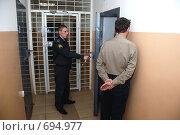 Купить «Следственный изолятор», фото № 694977, снято 7 февраля 2009 г. (c) fotobelstar / Фотобанк Лори