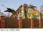Купить «Змей-Горыныч. По дороге в Суздаль», фото № 695349, снято 4 октября 2008 г. (c) Ирина Завьялова / Фотобанк Лори