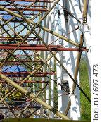 Паутина жизни колеса. Стоковое фото, фотограф Соколова Анастасия / Фотобанк Лори