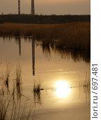 Неспособен человек затмить красоту заката (2008 год). Стоковое фото, фотограф Соколова Анастасия / Фотобанк Лори