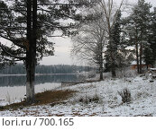 Зимний пейзаж. Стоковое фото, фотограф Елена Скопинцева / Фотобанк Лори
