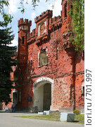 Купить «Холмские ворота Брестской крепости», фото № 701997, снято 11 мая 2008 г. (c) Андрей Рыбачук / Фотобанк Лори