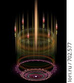 Канделябр. Стоковая иллюстрация, иллюстратор Parmenov Pavel / Фотобанк Лори