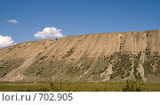 Естественная горная терраса. Стоковое фото, фотограф Дмитрий Федяков / Фотобанк Лори