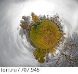Купить «Мини-планета. Парк.», фото № 707945, снято 24 февраля 2018 г. (c) Юрий Бельмесов / Фотобанк Лори