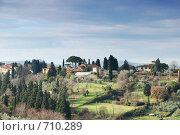Купить «Тоскана, Италия», фото № 710289, снято 8 января 2009 г. (c) Криволап Ольга / Фотобанк Лори