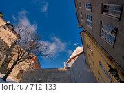 Геометрия старого города (2009 год). Стоковое фото, фотограф Андрей Григорьев / Фотобанк Лори