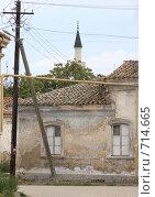 Евпатория, татарский район (2008 год). Стоковое фото, фотограф Дмитрий Неумоин / Фотобанк Лори
