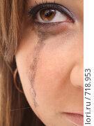 Купить «Плачущая девушка», фото № 718953, снято 20 февраля 2009 г. (c) Антон Корнилов / Фотобанк Лори