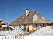 Украинский домик, г. Оренбург (2009 год). Редакционное фото, фотограф Кузькин Владимир / Фотобанк Лори