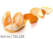 Купить «Апельсин в виде голодного червя», фото № 722229, снято 24 февраля 2009 г. (c) Александр Чистяков / Фотобанк Лори