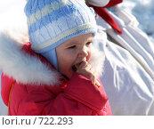 Купить «Девочка и блины», фото № 722293, снято 24 февраля 2009 г. (c) Оля Косолапова / Фотобанк Лори