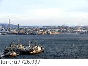 Купить «Порт Мурманска. Роста», эксклюзивное фото № 726997, снято 21 февраля 2009 г. (c) Иван Мацкевич / Фотобанк Лори