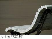 Скамейка в парке. Стоковое фото, фотограф Брысин Константин / Фотобанк Лори