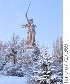 Купить «Мамаев Курган», фото № 727369, снято 8 января 2009 г. (c) Золотовская Любовь / Фотобанк Лори