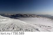 Вид на гору Мустаг. Стоковое фото, фотограф Алексей Диденко / Фотобанк Лори