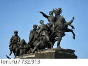 Купить «Самара. Памятник Чапаеву.», фото № 732913, снято 28 февраля 2009 г. (c) Николай Федорин / Фотобанк Лори
