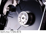 Корпус винчестера. Технонатюрморт на сером фоне. Стоковое фото, фотограф Юрий Бульший / Фотобанк Лори