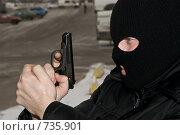 Купить «Войска специального назначения», фото № 735901, снято 5 февраля 2009 г. (c) Евгений Поздняков / Фотобанк Лори