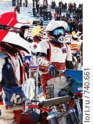 Купить «Мотогонки на льду», фото № 740661, снято 8 марта 2009 г. (c) Мария Смирнова / Фотобанк Лори