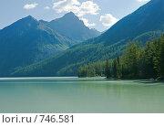 Купить «Горное озеро Кучерлинское, Алтай, Сибирь, Россия», фото № 746581, снято 29 июля 2008 г. (c) Max Toporsky / Фотобанк Лори