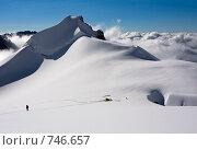 Купить «Восхождение на вершину (1). Белуха, Алтай, Россия», фото № 746657, снято 26 июля 2008 г. (c) Max Toporsky / Фотобанк Лори