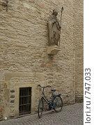 Улочка. г. Мюнстер. Германия (2008 год). Стоковое фото, фотограф Дмитрий Юшкин / Фотобанк Лори