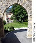 Купить «Деревушка Грюйер, родина швейцарского сыра», фото № 747717, снято 25 июля 2008 г. (c) Светлана Кудрина / Фотобанк Лори