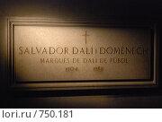 Купить «Сальвадор Дали», фото № 750181, снято 10 марта 2009 г. (c) Брыков Дмитрий / Фотобанк Лори