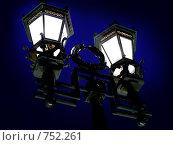 Купить «Уличный фонарь», фото № 752261, снято 13 сентября 2008 г. (c) Михаил Ковалев / Фотобанк Лори