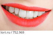 Купить «Женская улыбка», фото № 752969, снято 14 марта 2009 г. (c) Олег Кириллов / Фотобанк Лори
