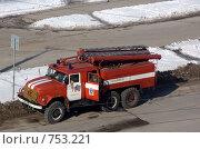 Купить «Пожарная машина», фото № 753221, снято 16 марта 2009 г. (c) Дудакова / Фотобанк Лори
