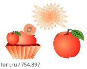 Купить «Персиковый десерт», иллюстрация № 754897 (c) Алексей Лебедев-Реллер / Фотобанк Лори