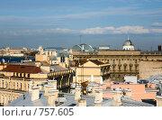 Купить «Санкт-Петербург. Вид с крыш», фото № 757605, снято 16 мая 2007 г. (c) Argument / Фотобанк Лори