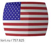 Купить «Флаг США», иллюстрация № 757825 (c) Геннадий Соловьев / Фотобанк Лори