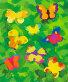 Бабочки текстура жесткой кисти, иллюстрация № 759533 (c) Типляшина Евгения / Фотобанк Лори
