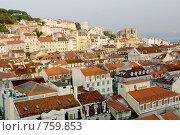 Купить «Португалия. Лиссабон. Панорама города», фото № 759853, снято 24 сентября 2007 г. (c) Илюхина Наталья / Фотобанк Лори