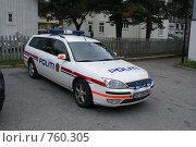 Норвежская полиция (2008 год). Редакционное фото, фотограф Эдуард Финовский / Фотобанк Лори